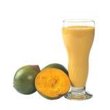 Peruvian Lucuma Milkshake Stock Images