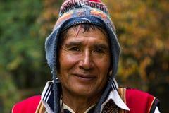 Peruvian mężczyzna Obrazy Stock