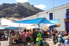 Peruvian market Stock Photos
