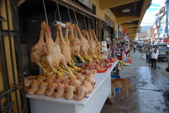 Peruvian market Royalty Free Stock Photo