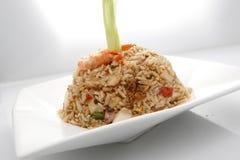 Peruvian mixed seafood rice Stock Image
