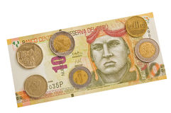 Peruvian money. Royalty Free Stock Photo