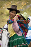 Peruvian mother and child - Peru Royalty Free Stock Photography
