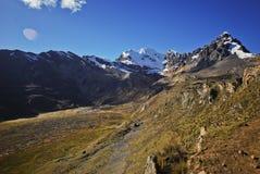 Peruvian mountain landscape Stock Image