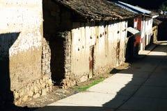 Peruvian mountain village Stock Image