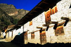 Peruvian mountain village Royalty Free Stock Image