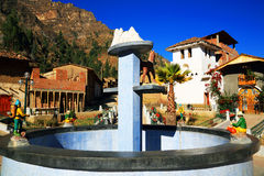 Peruvian mountain village Royalty Free Stock Photography