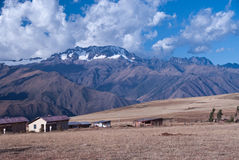 Peruvian Mountains and Countryside Royalty Free Stock Photo