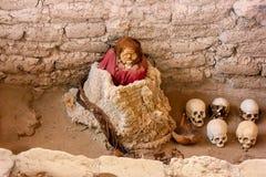 Peruvian Mummy Royalty Free Stock Images