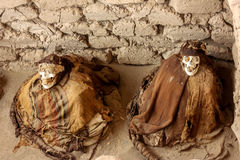 Peruvian Mummy Royalty Free Stock Photography