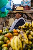 Pisac market, Folklore,people, woman, Peru Royalty Free Stock Photos