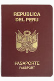 Peruvian Passport Royalty Free Stock Photography