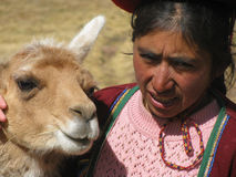 Peruvian people Royalty Free Stock Image