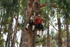 Peruvian puppets Royalty Free Stock Image