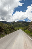 Peruvian roadway Stock Photo