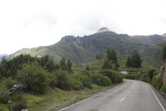 Peruvian roadway Stock Photos