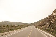 Peruvian roadway Royalty Free Stock Photo