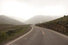 Peruvian roadway Stock Image