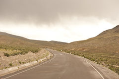 Peruvian roadway stock images