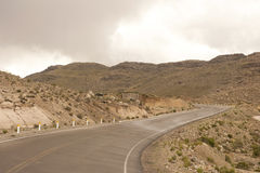 Peruvian Roadway Royalty Free Stock Images