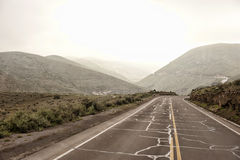 Peruvian Roadway Outdoors Stock Image