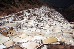 Peruvian salt Royalty Free Stock Photo