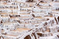 Peruvian Salt Pools Royalty Free Stock Photo