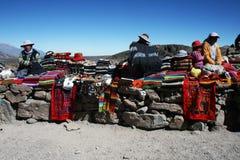 Peruvian stall Royalty Free Stock Image