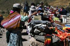 Peruvian stall Stock Image