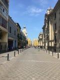Peruvian Street stock image