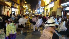 Peruvian Street Festival, Peru Travel stock footage