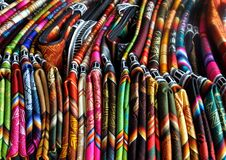 Peruvian Traditional  Fabric Royalty Free Stock Photography