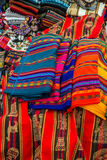 Peruvian traditional handcraft souvenirs Andes  Cuzco Peru. Traditional handcraft souvenirs in the peruvian Andes at Cuzco Peru Stock Photos