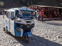 Peruvian Tuk-Tuk. The Peruvian version of a tuk-tuk stock photo