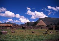 Peruvian village Royalty Free Stock Photo