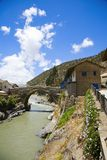 peruvian wioska Obraz Royalty Free