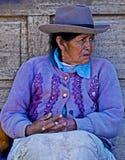 Peruvian woman Royalty Free Stock Photos