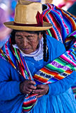 Peruvian woman Royalty Free Stock Photo