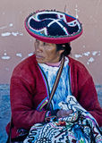 Peruvian woman Royalty Free Stock Photos