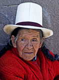 Peruvian woman Stock Photography