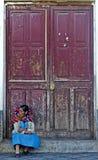 Peruvian woman Stock Image