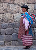 Peruvian woman Stock Images