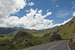 Peruwiańska jezdnia obrazy stock