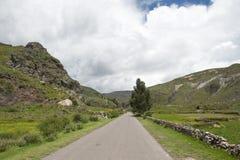 Peruwiańska jezdnia obraz stock