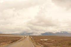 Peruwiańska jezdnia Outdoors fotografia stock