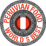 Peruwiańska karmowa ilustracja Fotografia Stock