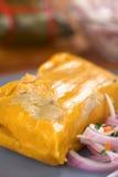 Peruwiański Tamale zdjęcie stock