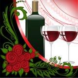 perły wino Zdjęcia Stock