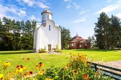 Peryn Chapel or Church of the Nativity of the Theotokos on Peryn Stock Photography
