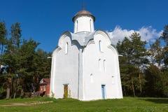 Peryn Chapel. Veliky Novgorod. Royalty Free Stock Photo